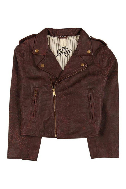 The Sway Byron Retro Biker Jacket