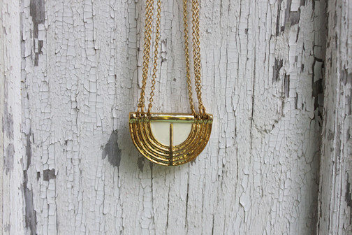 Dream Collective: Golden Louise Necklace