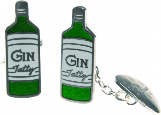 Tatty Devine Gin Cuff Links