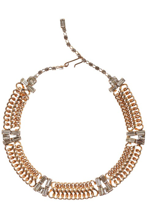 Mode Marteau Vintage Chain Necklace