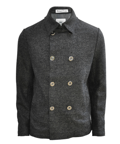 Bolongaro Trevor Db Reefer Wool Coat