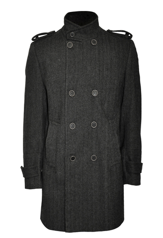 Bolongaro Trevor Military Pea Coat