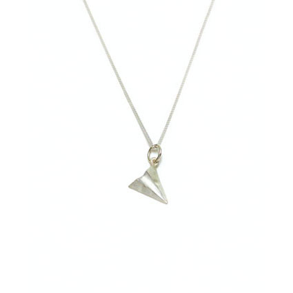 It's A Paper Airplane Necklace