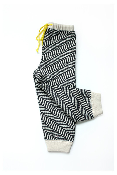 Micaela Greg Knitted Squiggle Pant