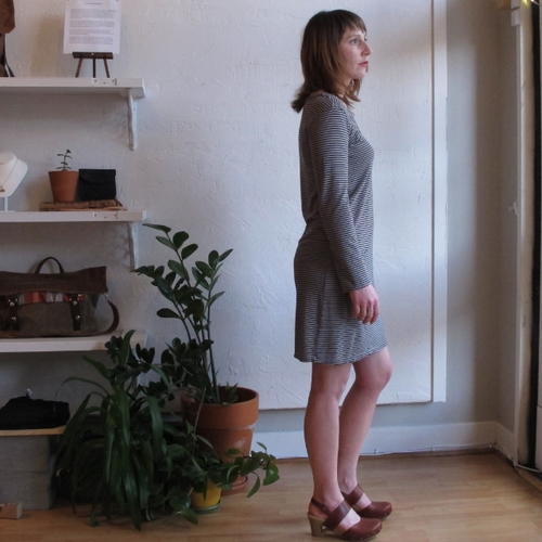 Modaspia Pocket Tee Dress