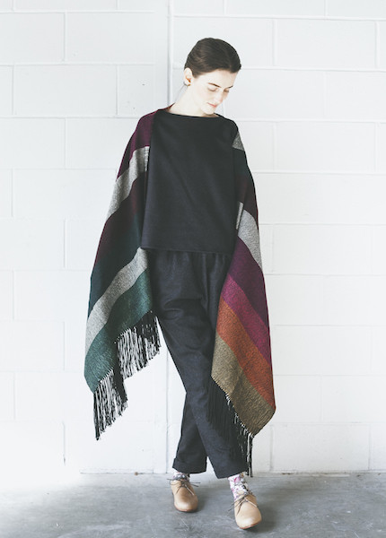 Proud Mary Rainbow Blanket Shawl