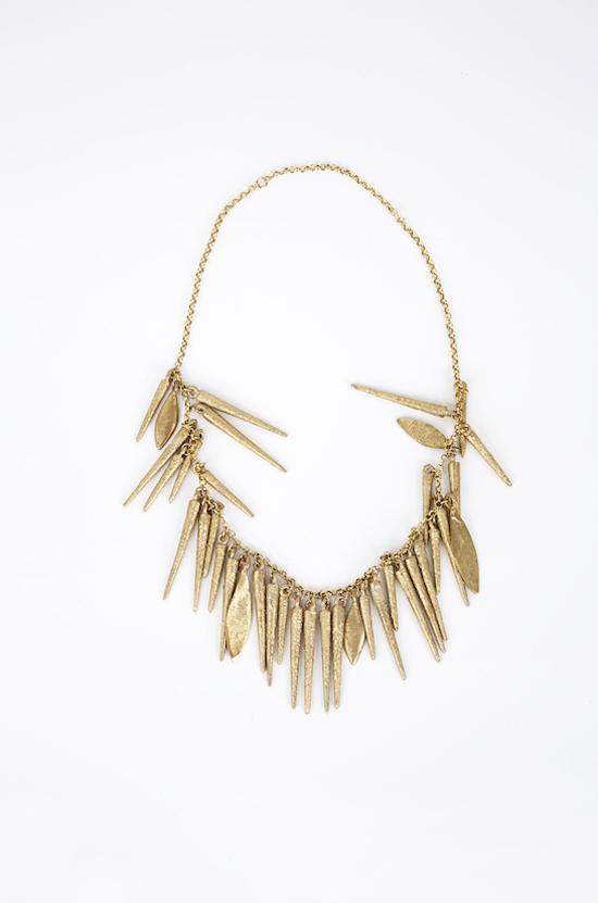 Osei Duro Mixed Fringe Necklace