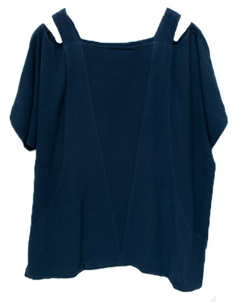 Tienda Ho Jodi Top in Navy Blue