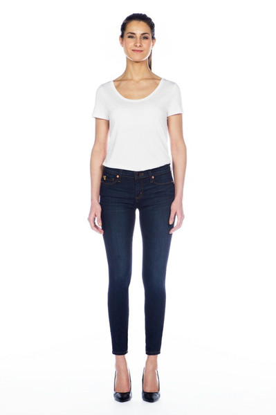 Yoga Jeans Classic Rise Skinny Ankle in Manhattan