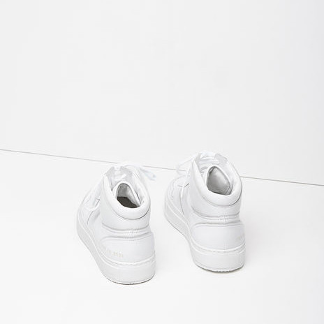 Common Projects BBall Leather High-Top Sneakers