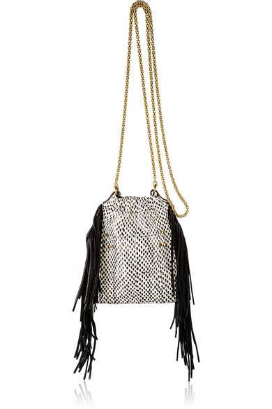 Jerome Dreyfuss Small Fringe Bag