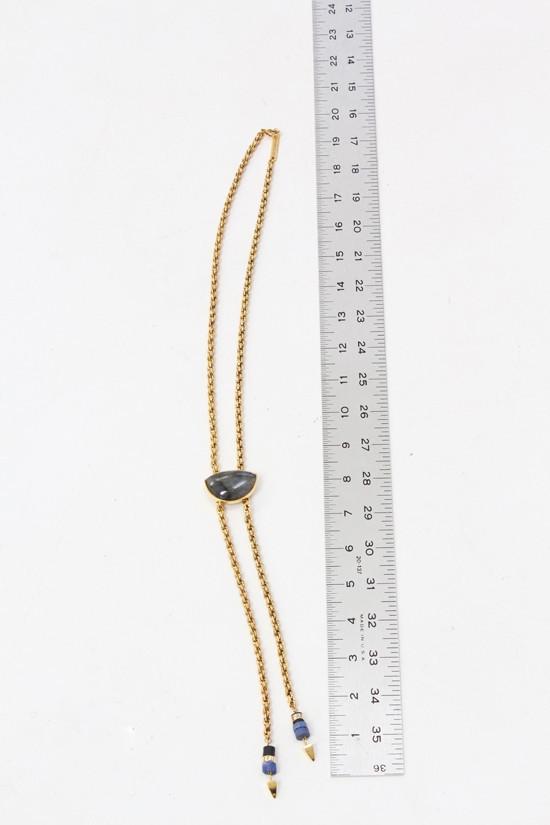 Lizzie Fortunato Minimal Luxe Bolo Necklace