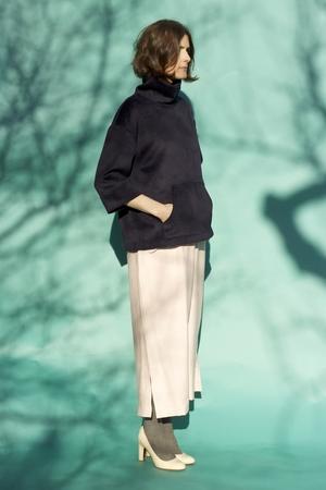 Sunja Link Turtleneck Pullover Jacket