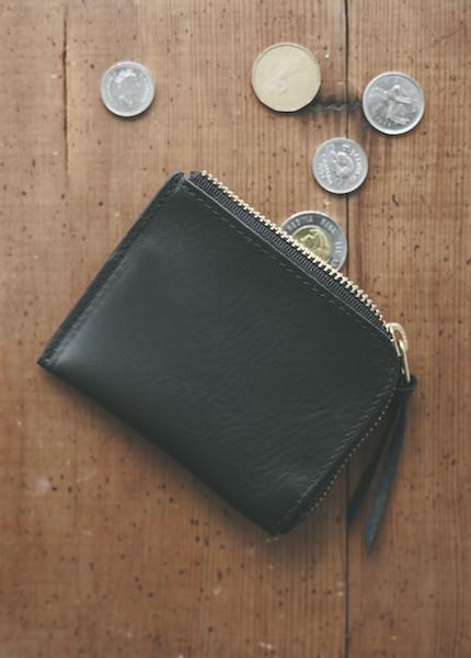 Me & Arrow - Zipper Wallet in Black