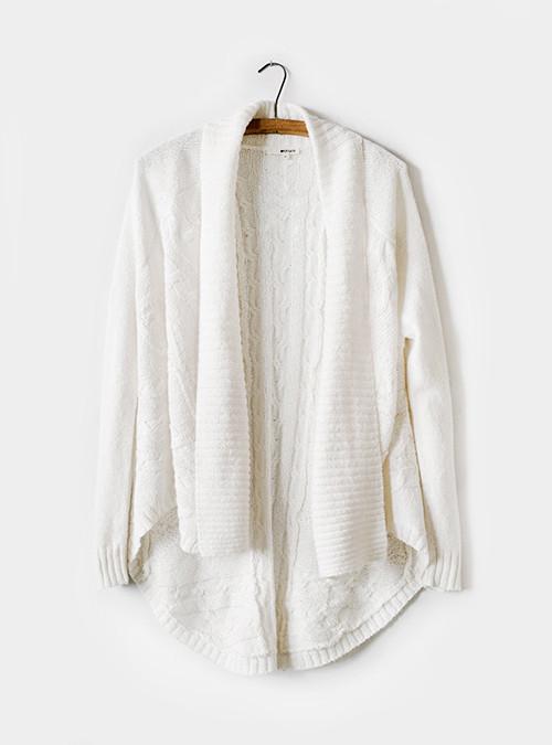 100% Tencel Open Knit Cardigan