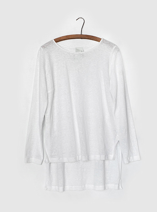 Heather Linen Top