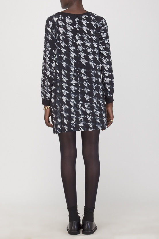 Osei-Duro Costa Dress in Houndstooth