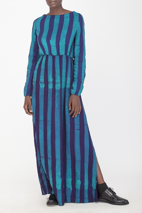 Osei-Duro Mallam Dress in Esmeralda