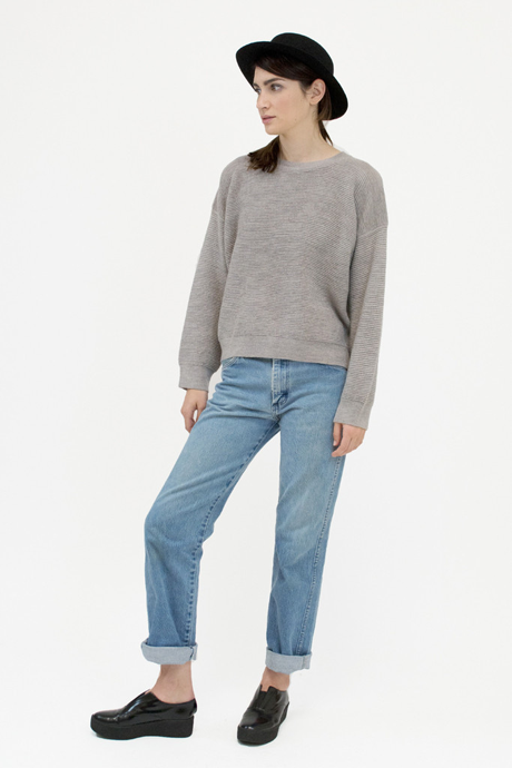 Micaela Greg Ripple Sweater