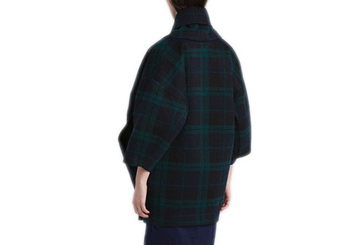 REALITY STUDIO XIONG FOREST CHECKS JACKET