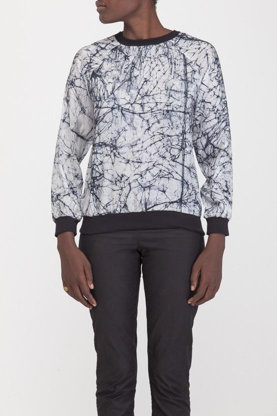 Osei-Duro Rapt Sweatshirt in Icebreak