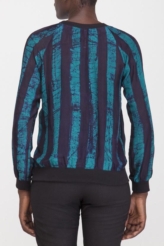 Osei-Duro Rapt Sweatshirt in Esmeralda