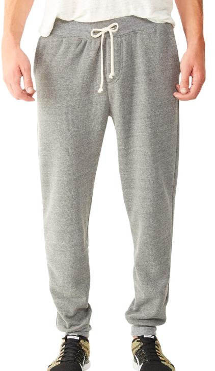 ALTERNATIVE APPAREL Dodgeball Eco-Fleece Pants - Athletic Grey
