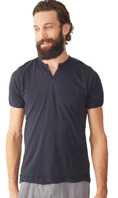 Men's ALTERNATIVE APPAREL Perfect Moroccan Organic Pima T-Shirt - Black