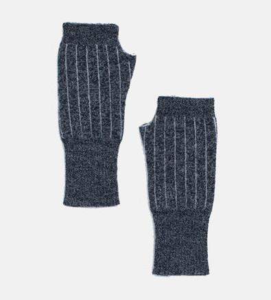 Micaela Greg Pinstripe Gloves