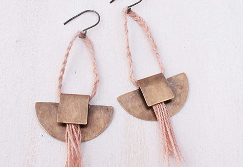 Layers of Earth Dakota Earrings