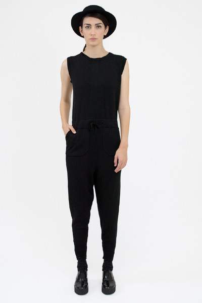 Micaela Greg KNIT JUMPER - BLACK