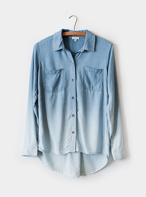 Splendid Chambray Button Down