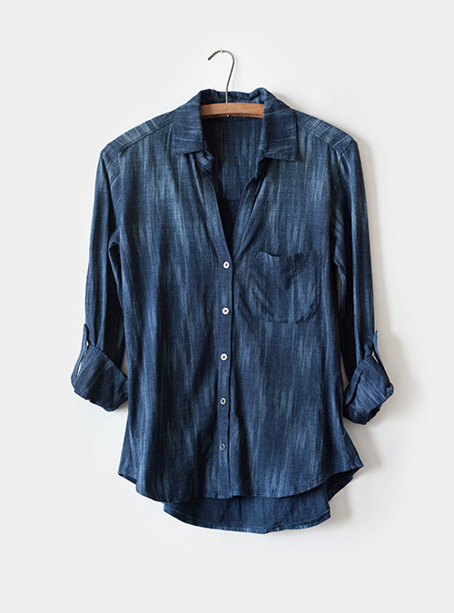 Bella Dahl Roll-Tab Button Down