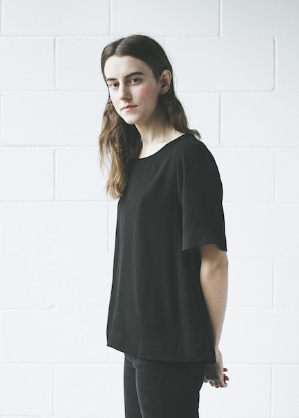 C+L Finds Curranne Blouse in Black