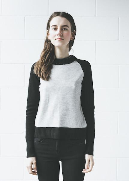 Rag & Bone - Amelia Pullover in Light Grey