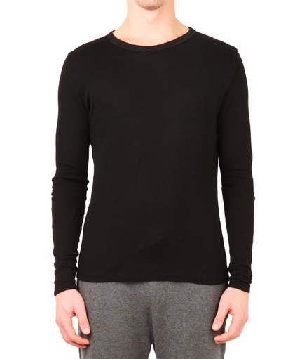Men's V::Room - Long Sleeve Crewneck Tee