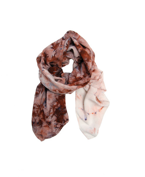 Shabd Magic Jar Tie Dye Silk Scarf
