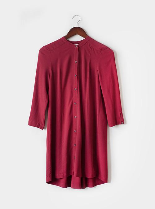 Bella Luxx Pleat Shirt Dress