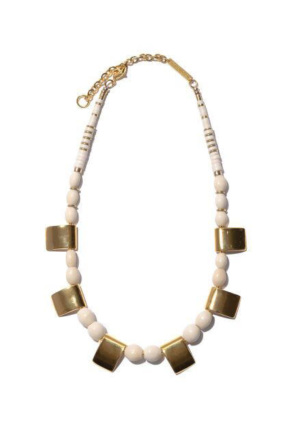 LIZZIE FORTUNATO GOLD HAZE NECKLACE