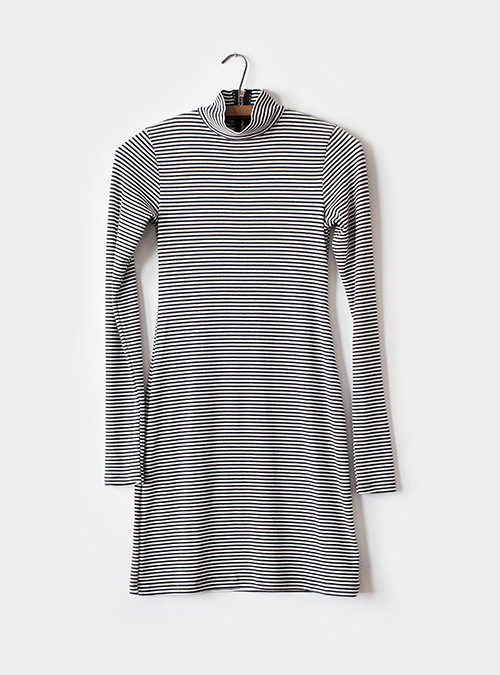 LA Made Maddox Turtle Neck Dress