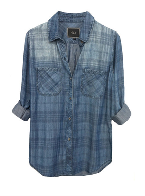 Rails Carter Denim Plaid