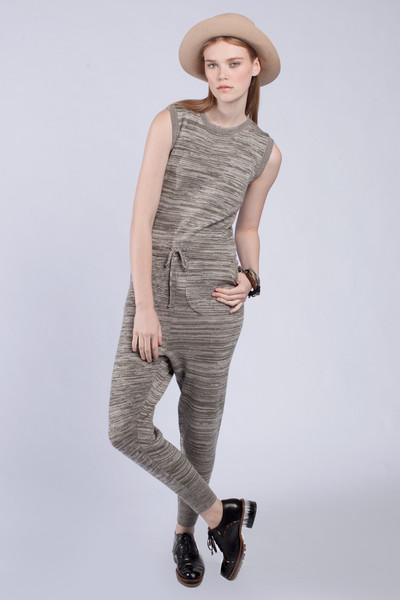 Micaela Greg Tie-waist Jumpsuit