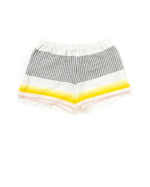 LemLem Lula Shorts in Citron