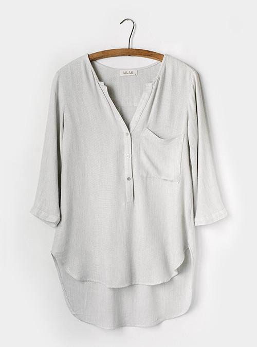 Bella Dahl Pocket Pullover Tunic
