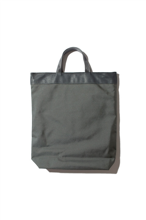 Market Bag Olive Grey