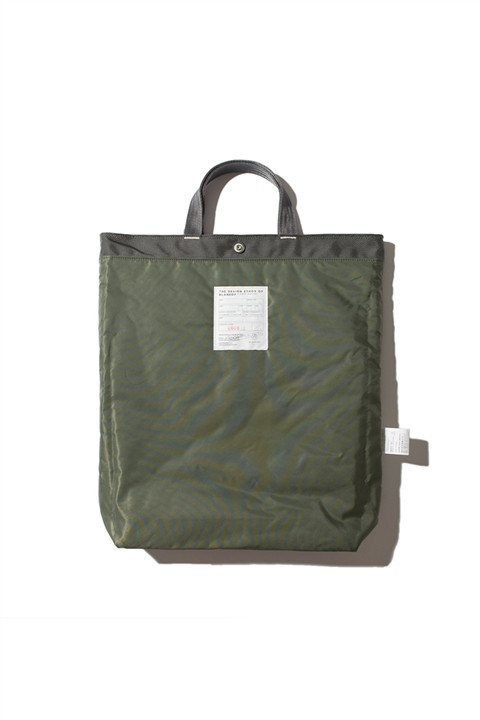 Market Bag Olive Grey