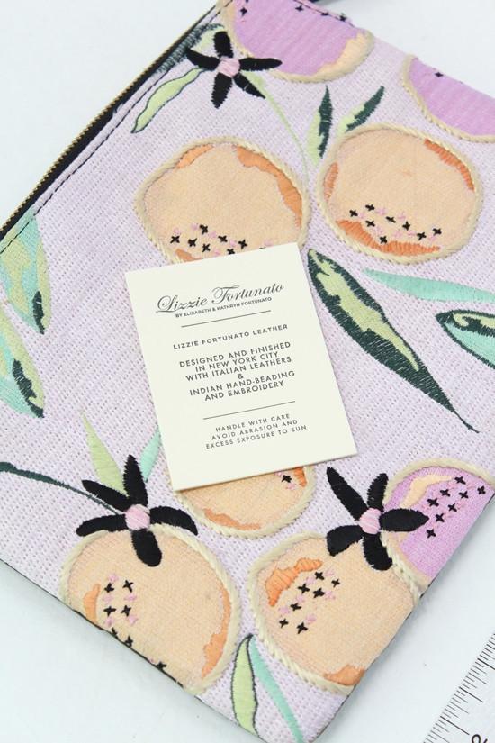 Lizzie Fortunato Citrus Safari Clutch