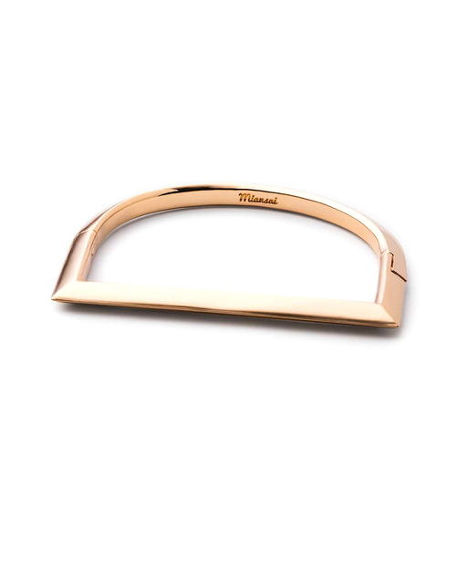 Miansai Bar Cuff in Gold