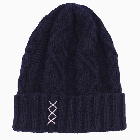 Men's Skully Co - Cable Knit Skully 100% Merino Wool