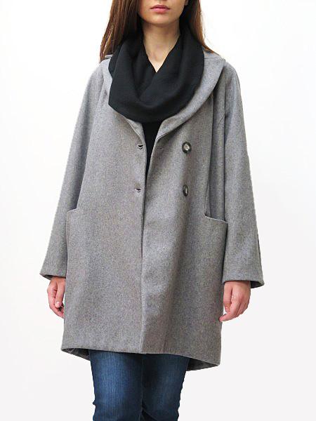 SUNJA LINK Balmaccan Coat